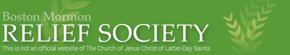 Boston Mormon Relief Society