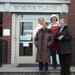 Relief Society Members Serve at Rosie's Place